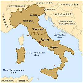 map-italy